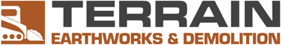 Terrain Earthworks & Demolition Logo