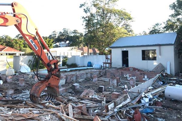 Adamstown Heights demolition