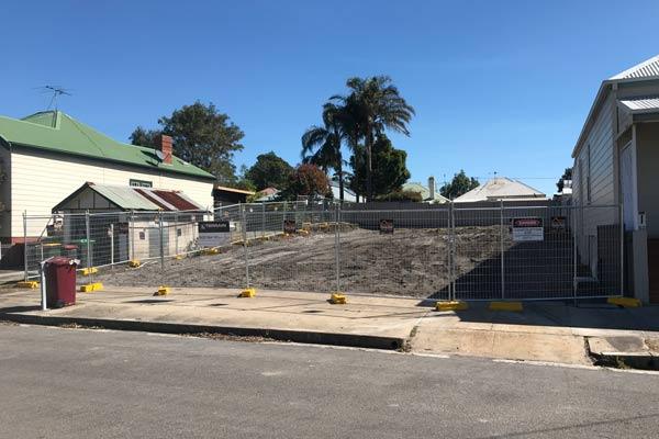 Complete demolition - after